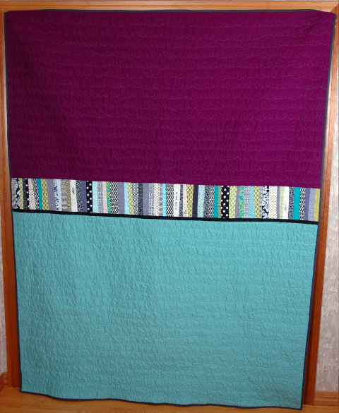 Wedding quilt by glitter goods Modern take on a classic